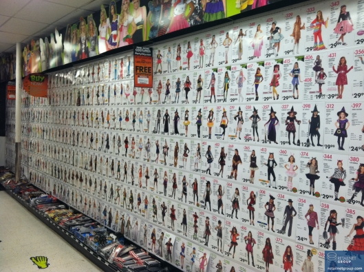 Party city wall